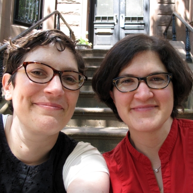 (Pictured above: Nina Frenkel on the left and Lyn Elliot on the right.)